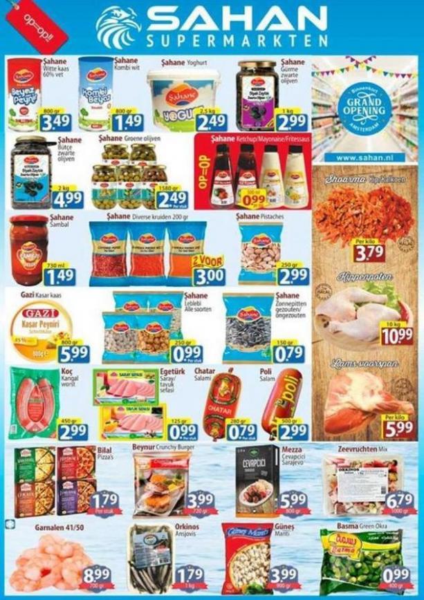 Folder Aanbiedingen  . Sahan Supermarkten (2019-10-27-2019-10-27)
