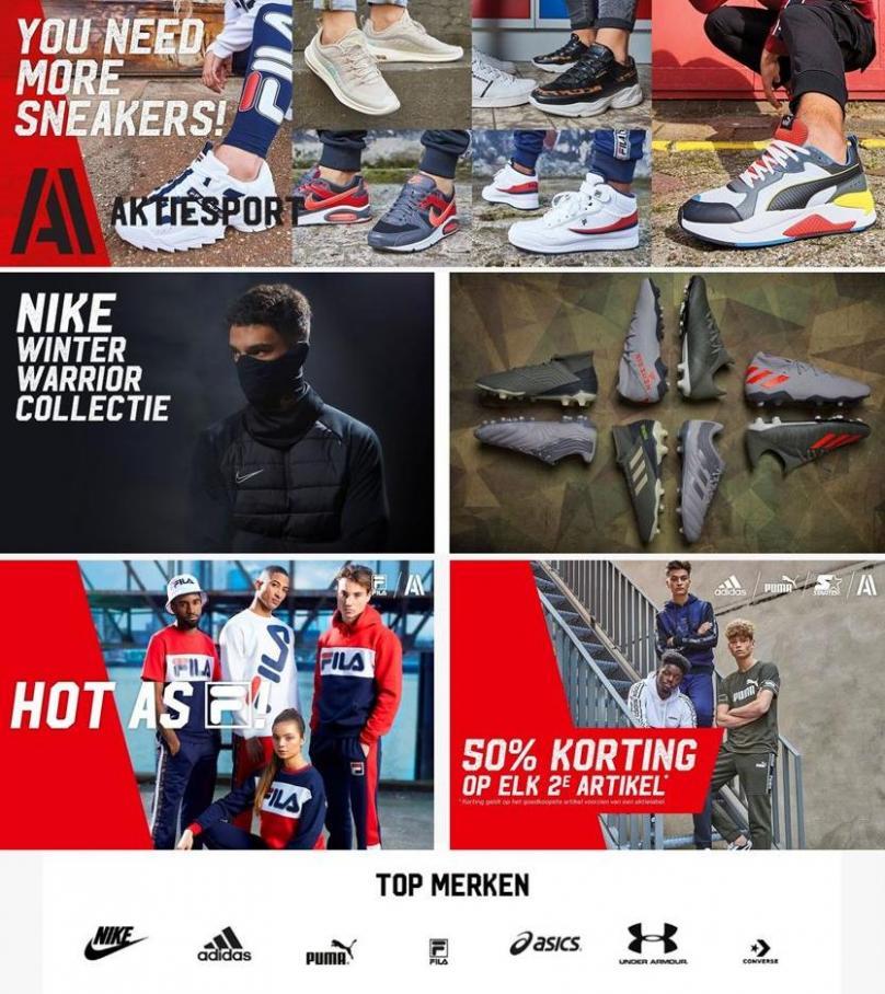 Aanbiedingen Aktiesport . Aktiesport (2019-12-19-2019-12-19)