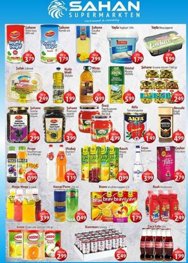 Folder Aanbiedingen . Sahan Supermarkten (2020-01-05-2020-01-05)
