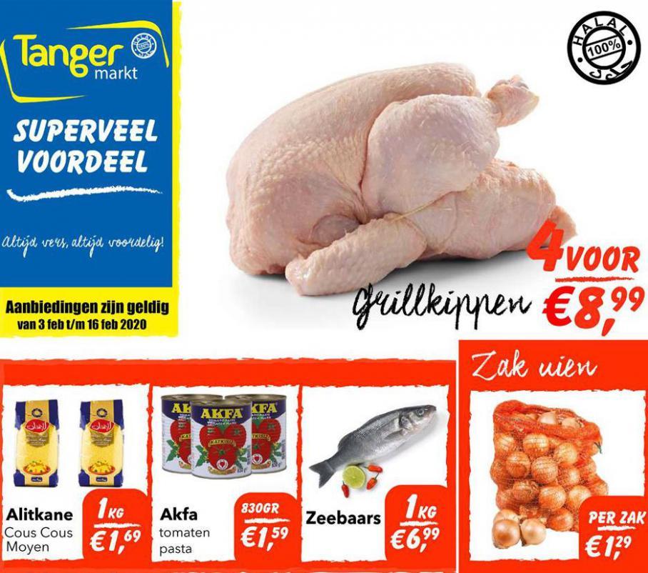 Folder Aanbiedingen  . Tanger Markt (2020-02-16-2020-02-16)