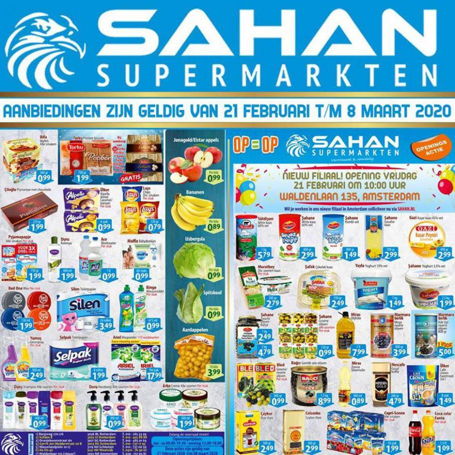 Folder Aanbiedingen  . Sahan Supermarkten (2020-03-08-2020-03-08)