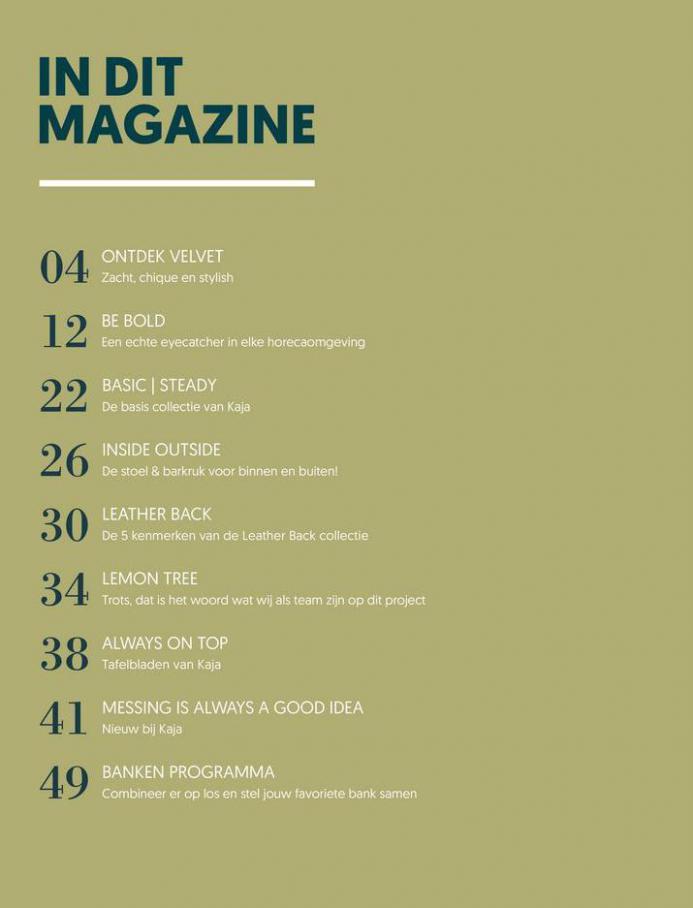 Kaja Interieurs - Binnenmagazine . Page 2