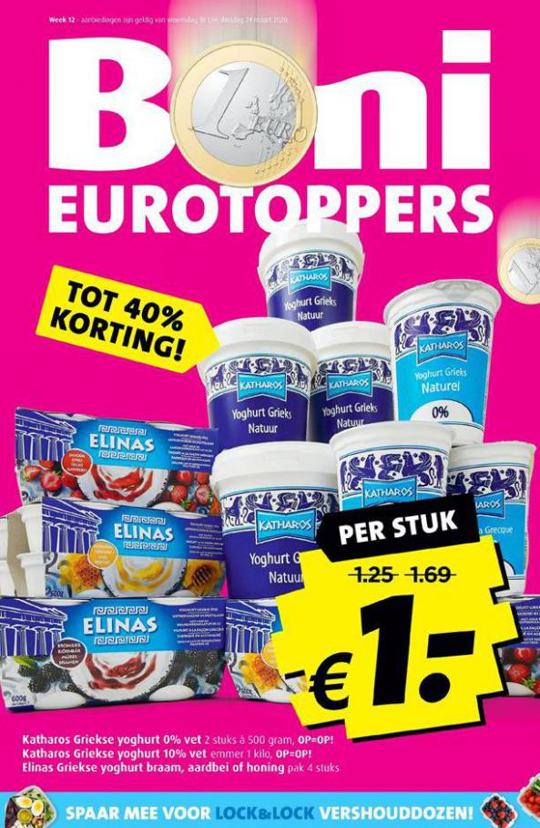 Eurotoppers . Boni (2020-03-24-2020-03-24)