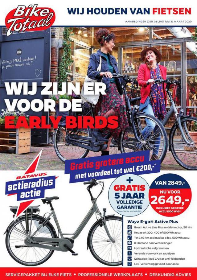 Folder Aanbiedingen  . Bike Totaal (2020-03-31-2020-03-31)