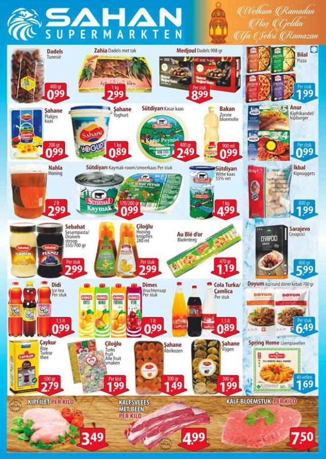 Folder Aanbiedingen . Sahan Supermarkten (2020-05-03-2020-05-03)