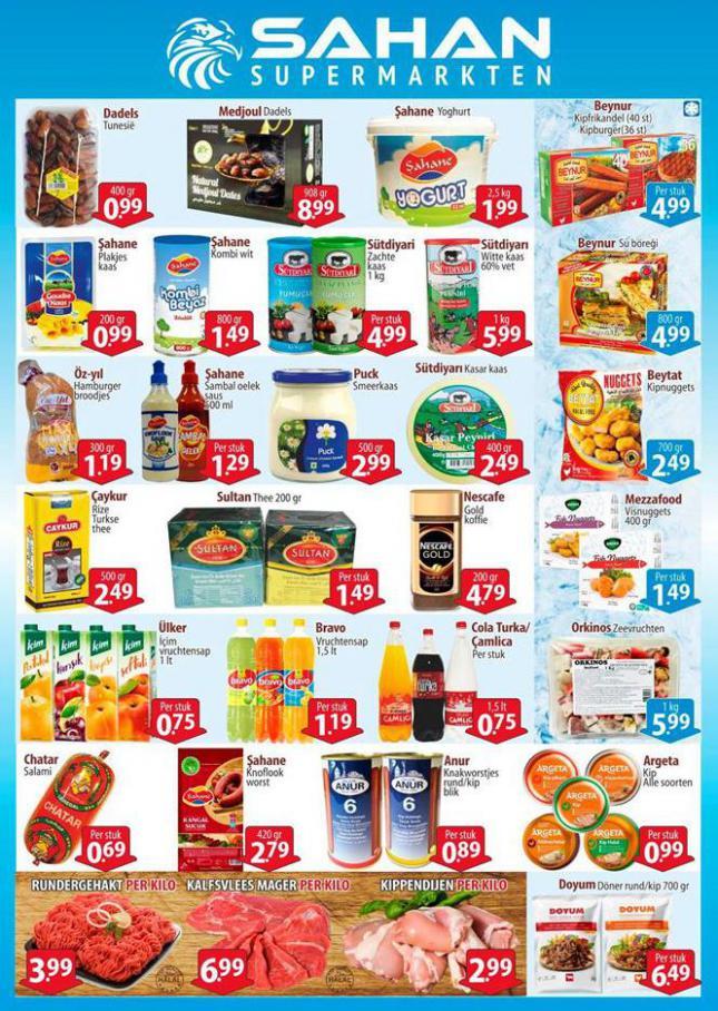 Folder Aanbiedingen . Sahan Supermarkten (2020-07-06-2020-07-06)