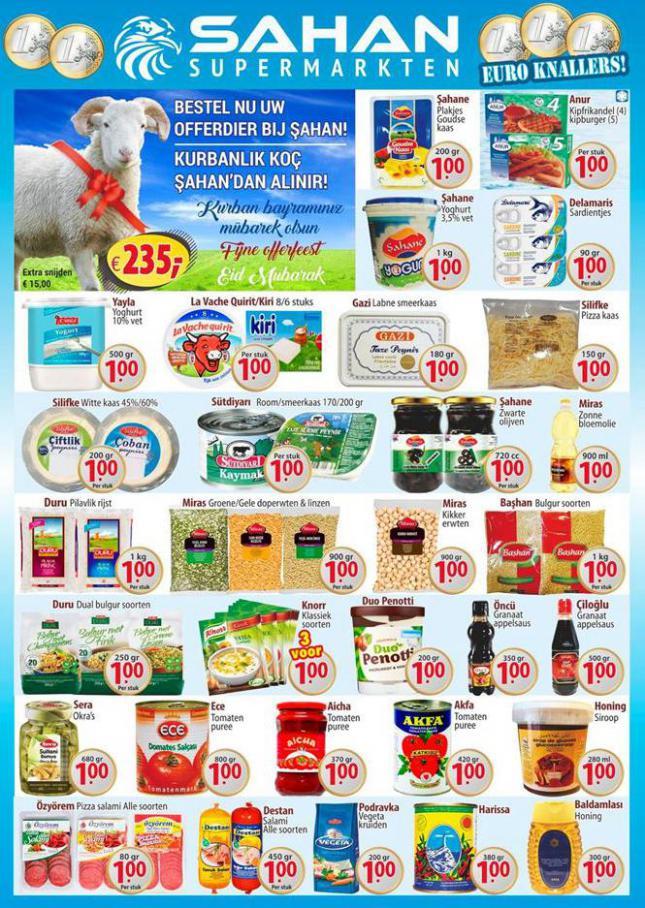 Folder Aanbiedingen . Sahan Supermarkten (2020-08-02-2020-08-02)