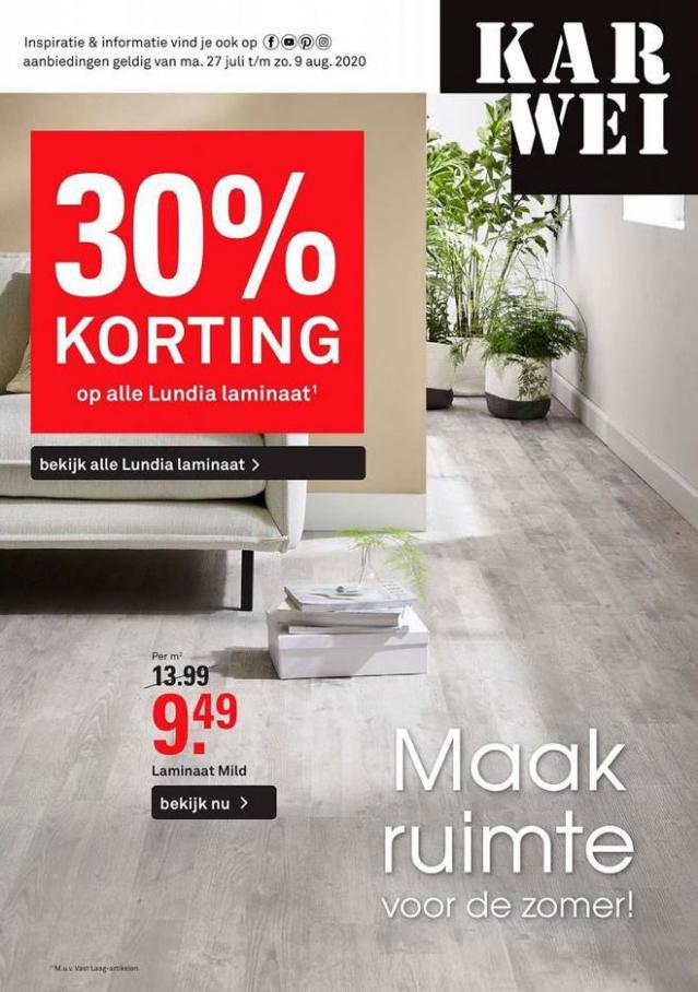 Folder Week 31-32 . Karwei (2020-08-09-2020-08-09)