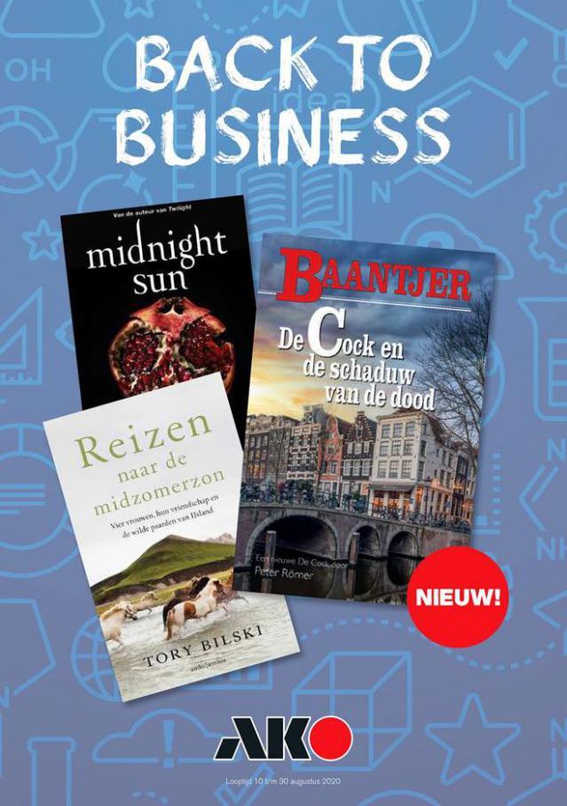 Back to business . AKO (2020-08-31-2020-08-31)