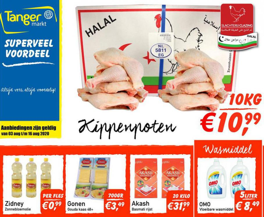 Folder Week 32-33 . Tanger Markt (2020-08-16-2020-08-16)