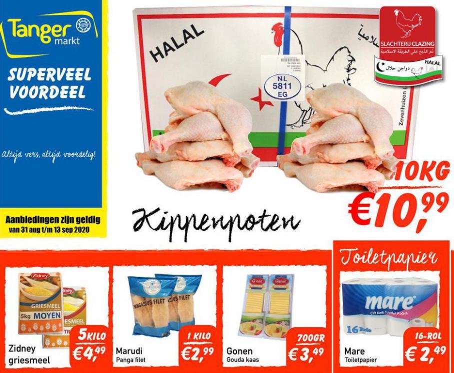 Folder Aanbiedingen  . Tanger Markt (2020-09-13-2020-09-13)