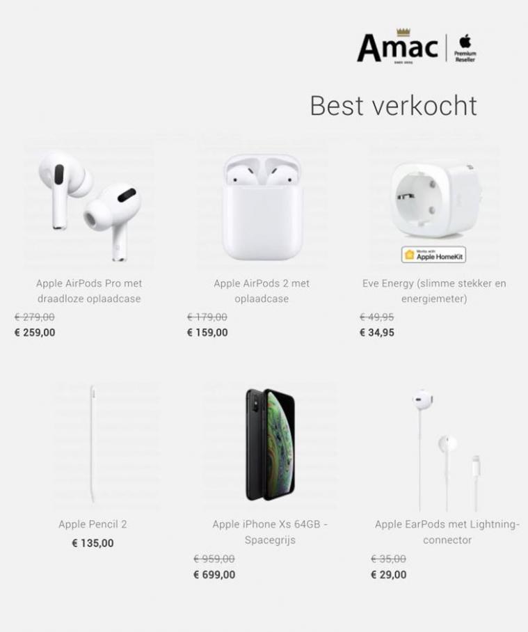 Best verkocht . Amac (2020-08-31-2020-08-31)
