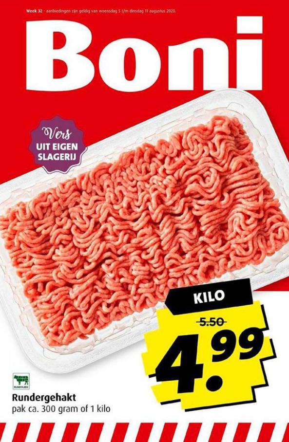 Folder Aanbiedingen . Boni (2020-08-11-2020-08-11)