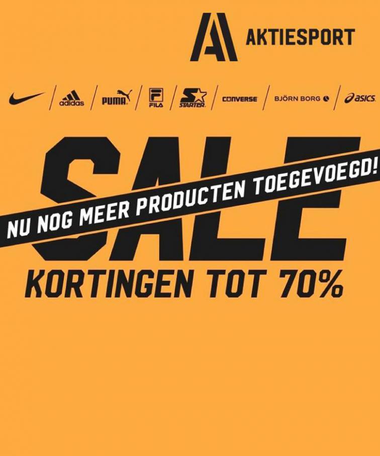KORTING TOT 70% . Aktiesport (2020-08-31-2020-08-31)