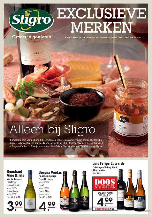 Exclusieve merken . Sligro (2020-10-05-2020-10-05)