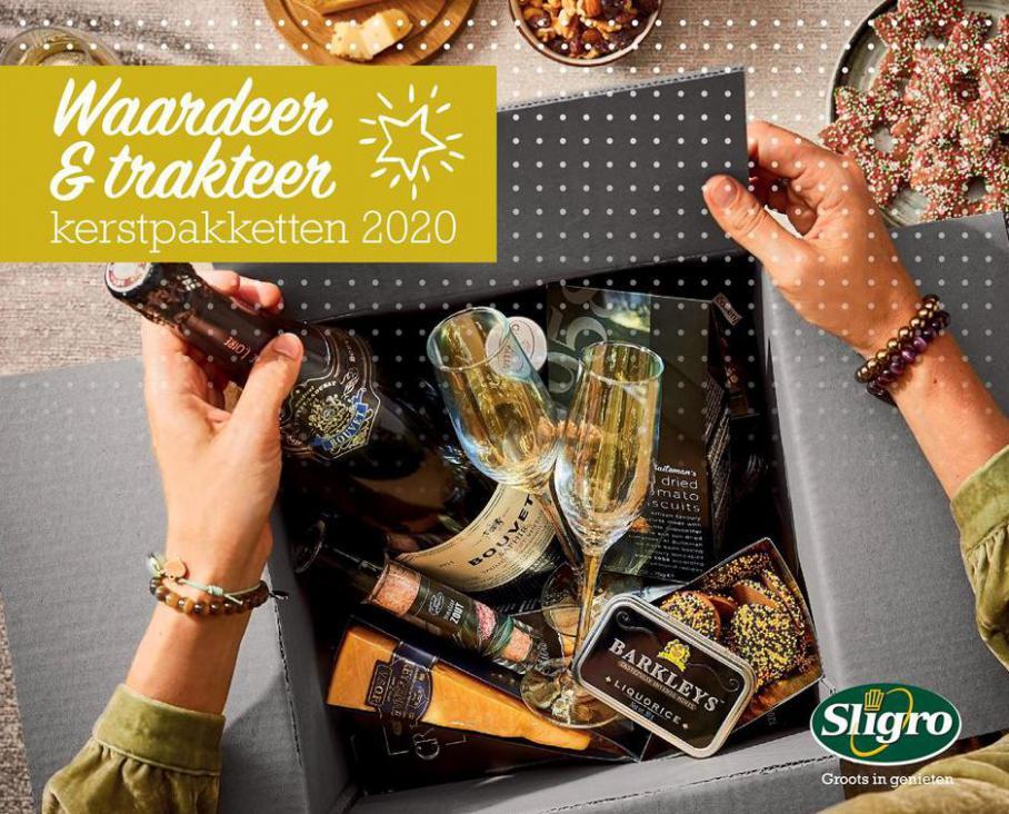 Kerstpakkettenbrochure 2020 . Sligro (2020-12-24-2020-12-24)