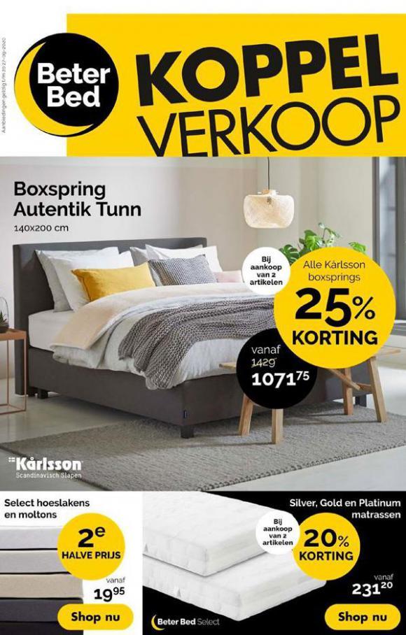 Koppel Verkoop . Beter Bed (2020-09-27-2020-09-27)