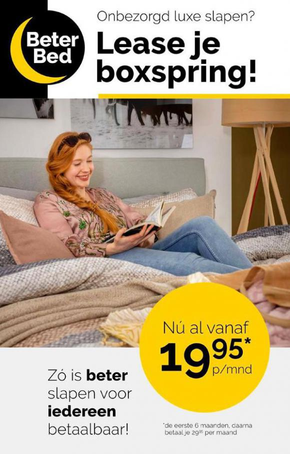 Lease je boxspring!! . Beter Bed (2020-09-27-2020-09-27)