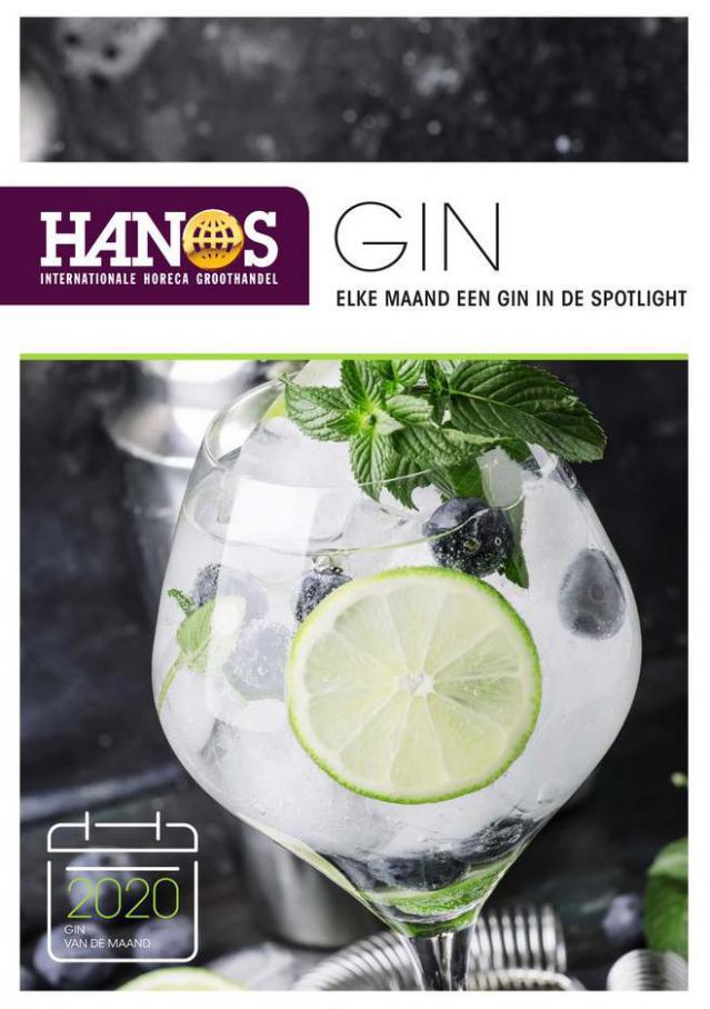 Gin van de maand - 2020 . HANOS (2020-12-31-2020-12-31)