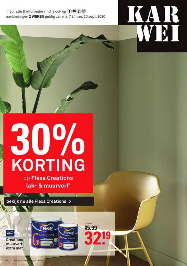 Folder Week 37-38 . Karwei (2020-09-20-2020-09-20)