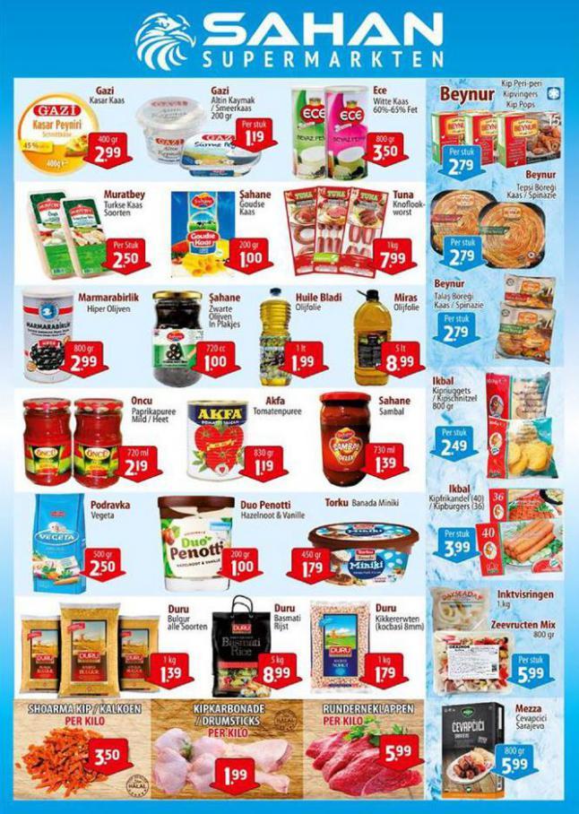 Aanbiedingen Folder . Sahan Supermarkten (2020-10-11-2020-10-11)