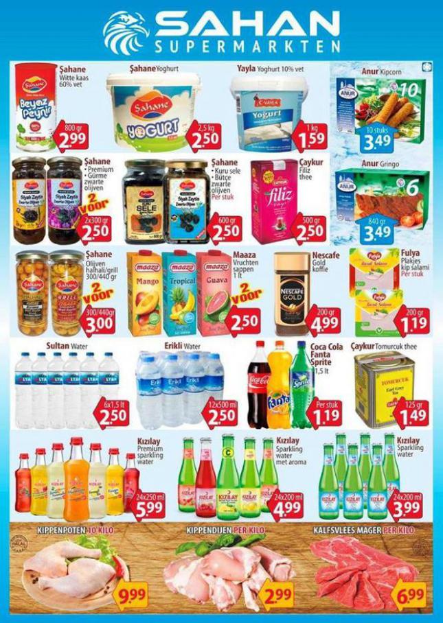 Aanbiedingen Folder . Sahan Supermarkten (2020-10-25-2020-10-25)