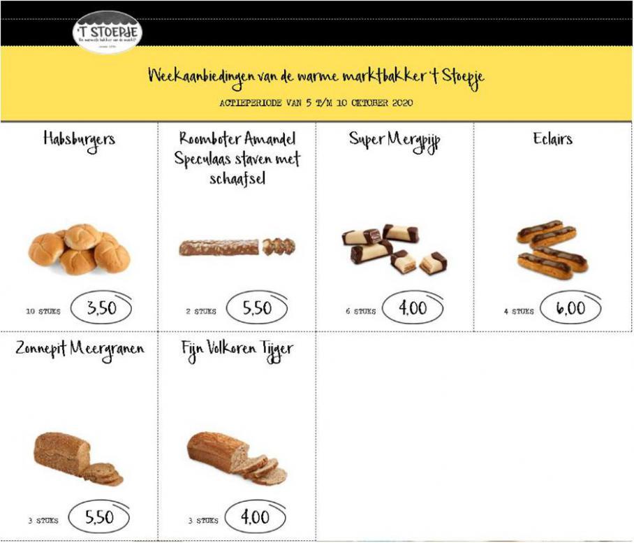 Aanbiedingen Week 41 . Bakkerij 't Stoepje (2020-10-10-2020-10-10)