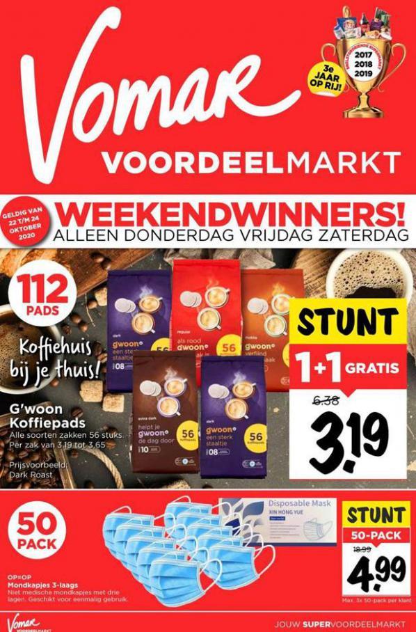 Weekend Folder . Vomar (2020-10-24-2020-10-24)