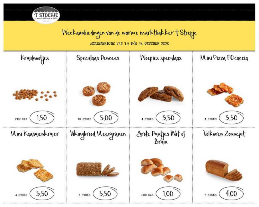 Week Aanbiedingen . Bakkerij 't Stoepje (2020-10-24-2020-10-24)