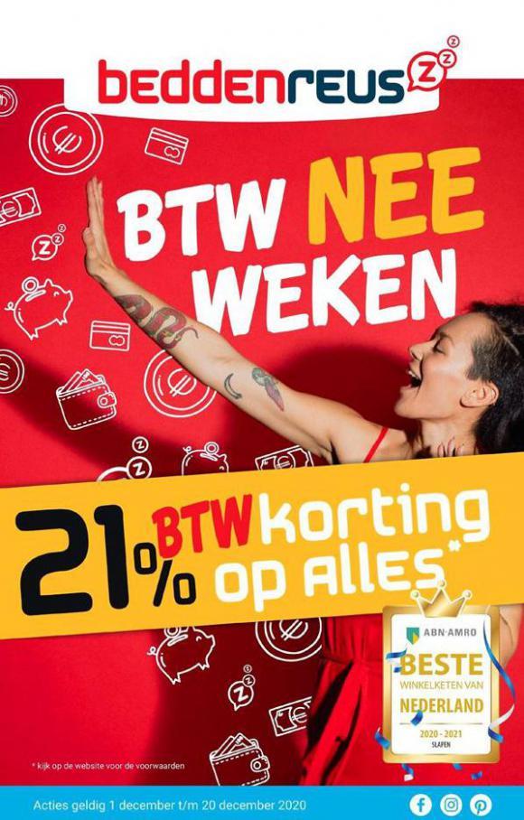 BTW Nee Weken . Beddenreus (2020-12-13-2020-12-13)