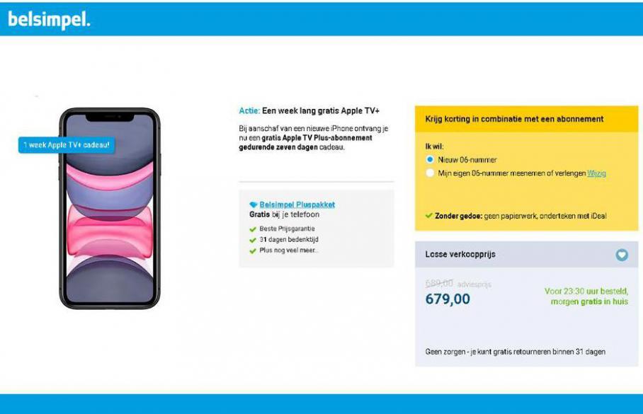 Top 10 smartphones - volgens onze toestelspecialisten . Belsimpel (2021-02-08-2021-02-08)