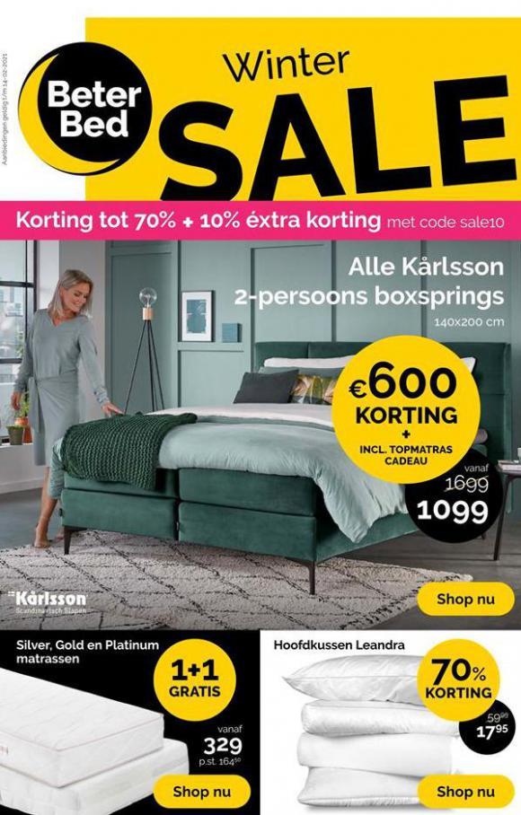 Winter Sale . Beter Bed (2021-02-14-2021-02-14)