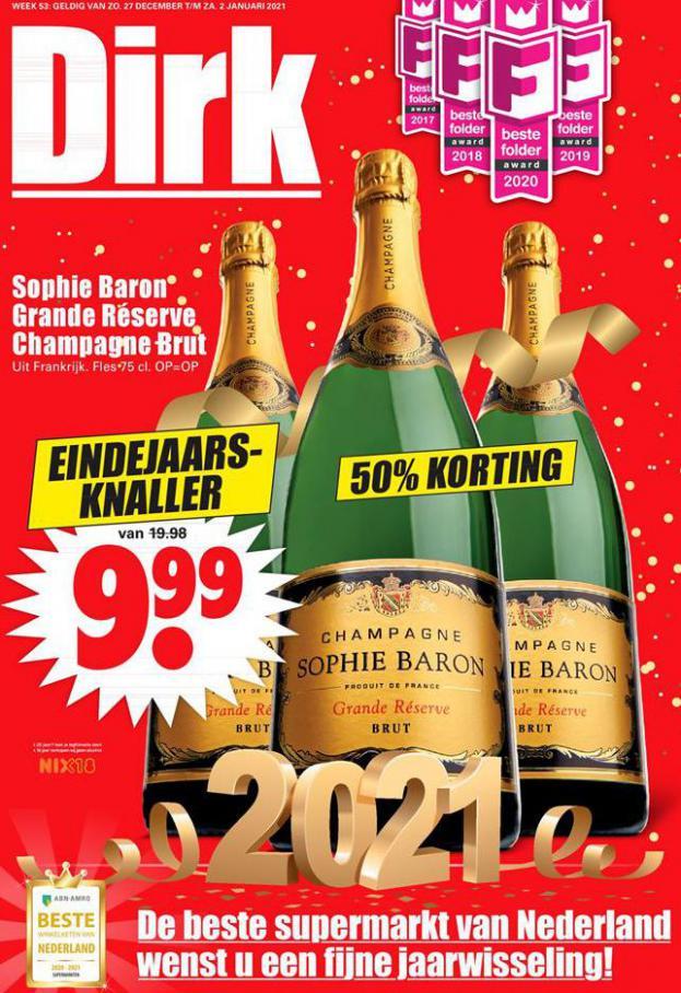Dirk - Aanbiedingen Week 53 . Dirk (2021-01-02-2021-01-02)