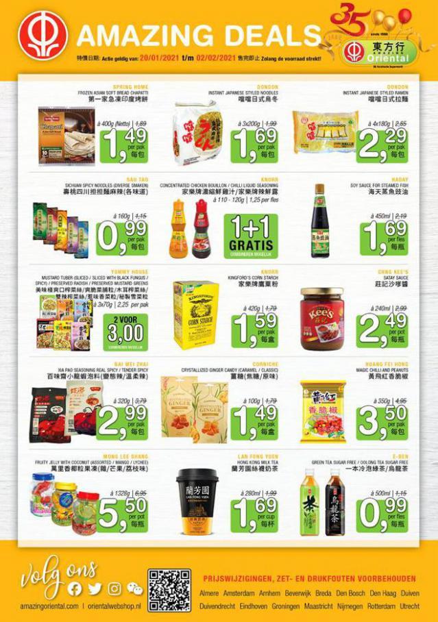 Amazing Deals . Amazing Oriental (2021-02-02-2021-02-02)