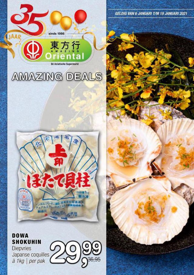 Aanbiedingen Folder . Amazing Oriental (2021-01-19-2021-01-19)