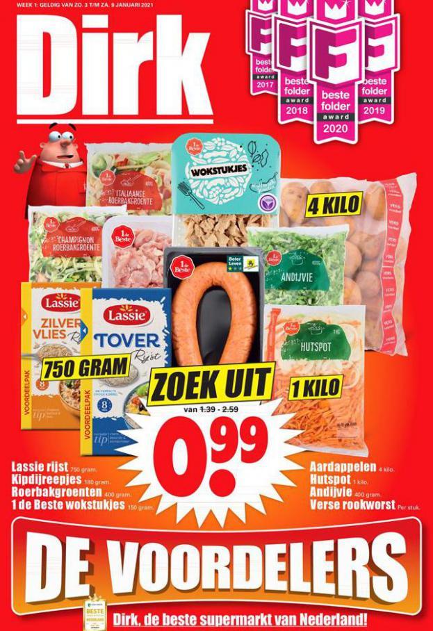 Dirk - aanbiedingen week 1 . Dirk (2021-01-09-2021-01-09)