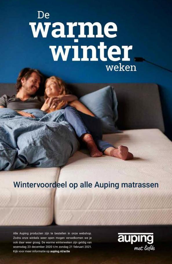 De warme winterweken . Auping (2021-02-21-2021-02-21)