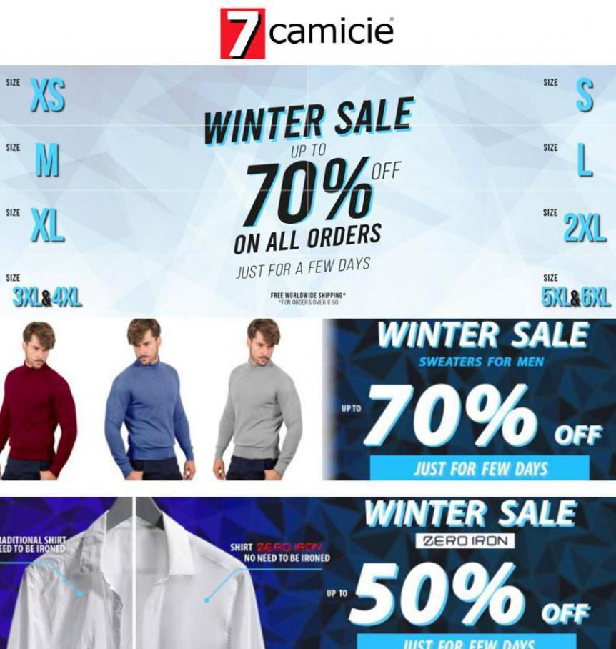Winter Sale . 7camicie (2021-02-28-2021-02-28)