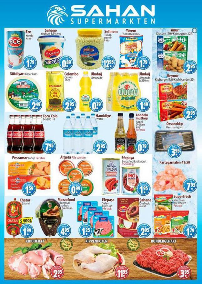 Folder Aanbiedingen . Sahan Supermarkten (2021-03-14-2021-03-14)