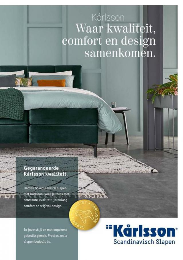 Waar kwaliteit, comfort en design samenkomen . Beter Bed (2021-02-23-2021-02-23)