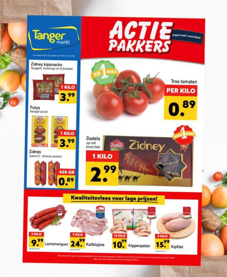 Aanbiedingen Folder . Tanger Markt (2021-02-25-2021-02-25)