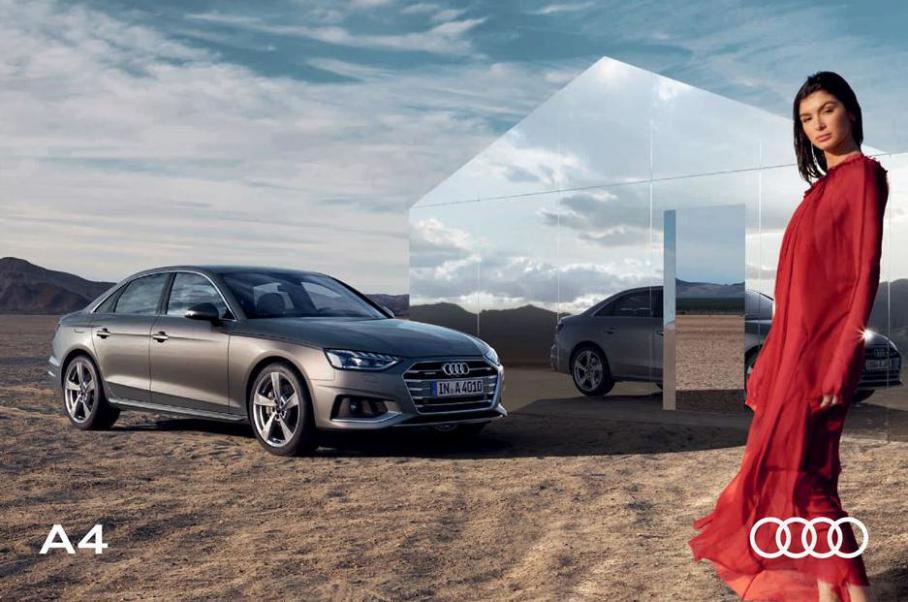 A4 Brochure . Audi (2022-01-17-2022-01-17)
