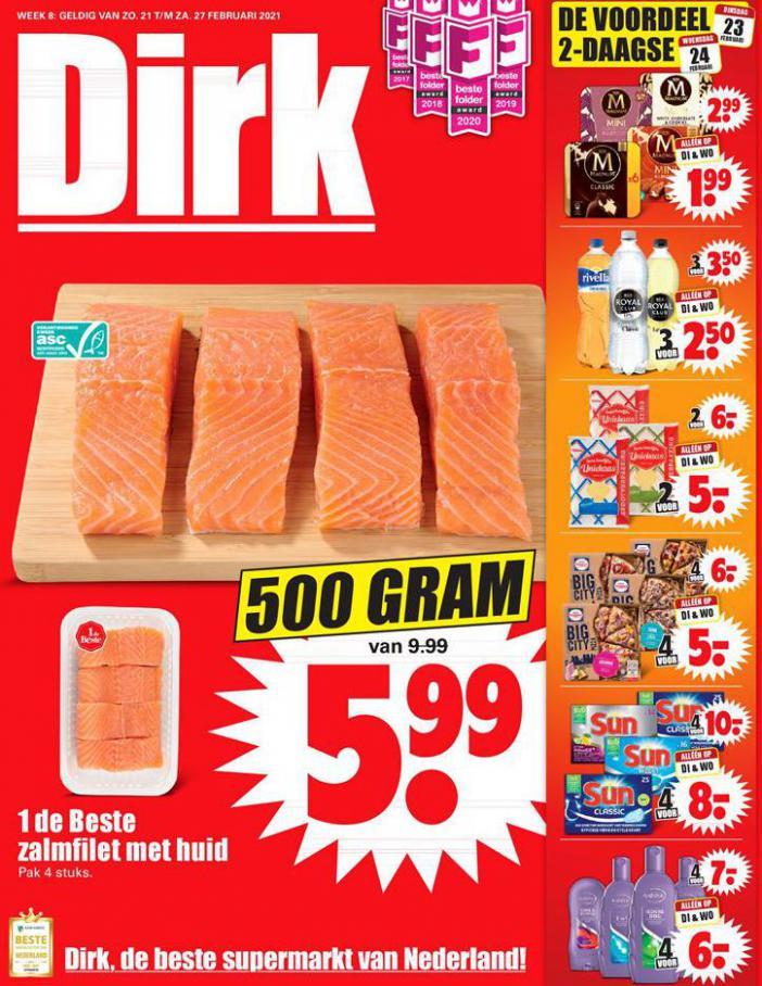 Aanbiedingen Week 8 . Dirk (2021-02-27-2021-02-27)
