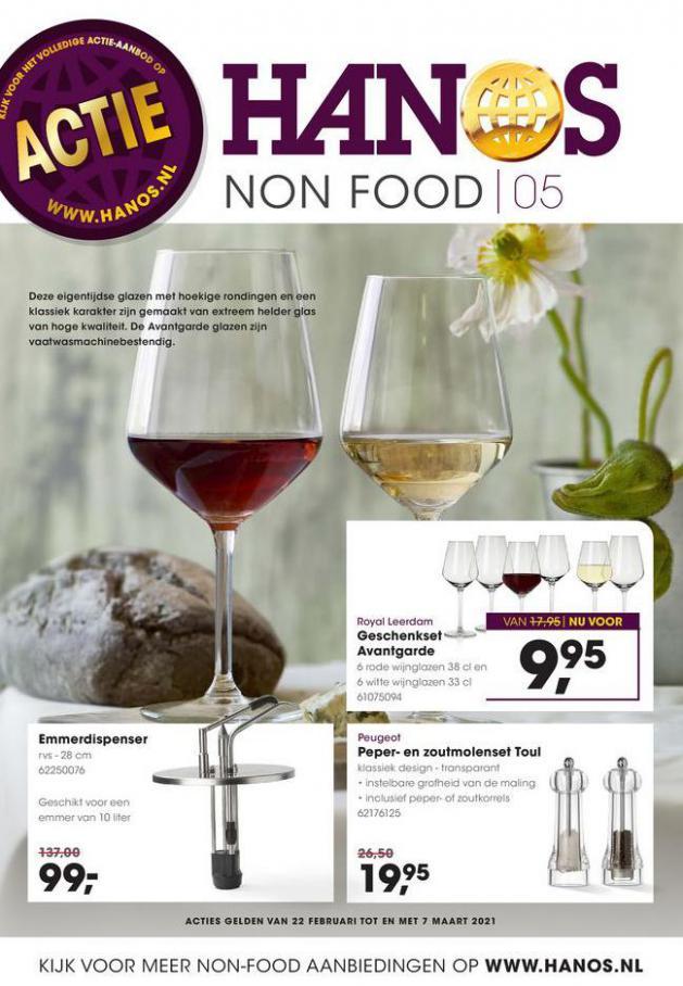 HANOS Courant 5 Non-food . HANOS (2021-03-07-2021-03-07)