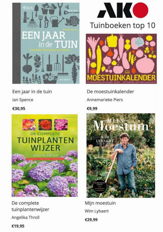 Tuinboeken top 10 . AKO (2021-04-12-2021-04-12)