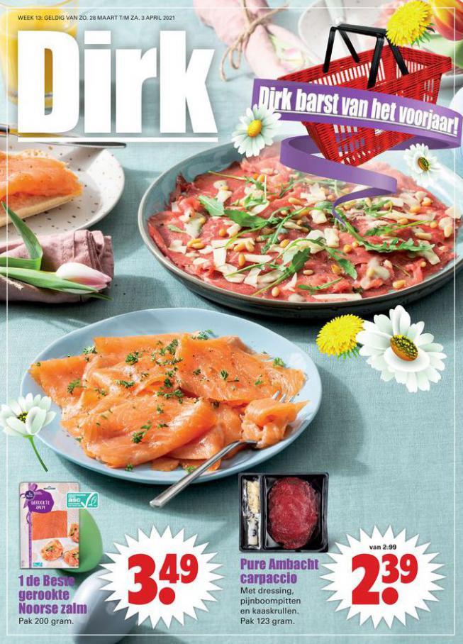 Aanbiedingen week 13 . Dirk (2021-04-03-2021-04-03)