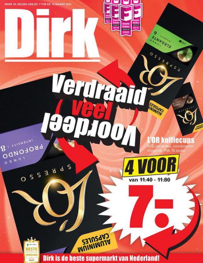 Aanbiedingen week 10 . Dirk (2021-03-13-2021-03-13)