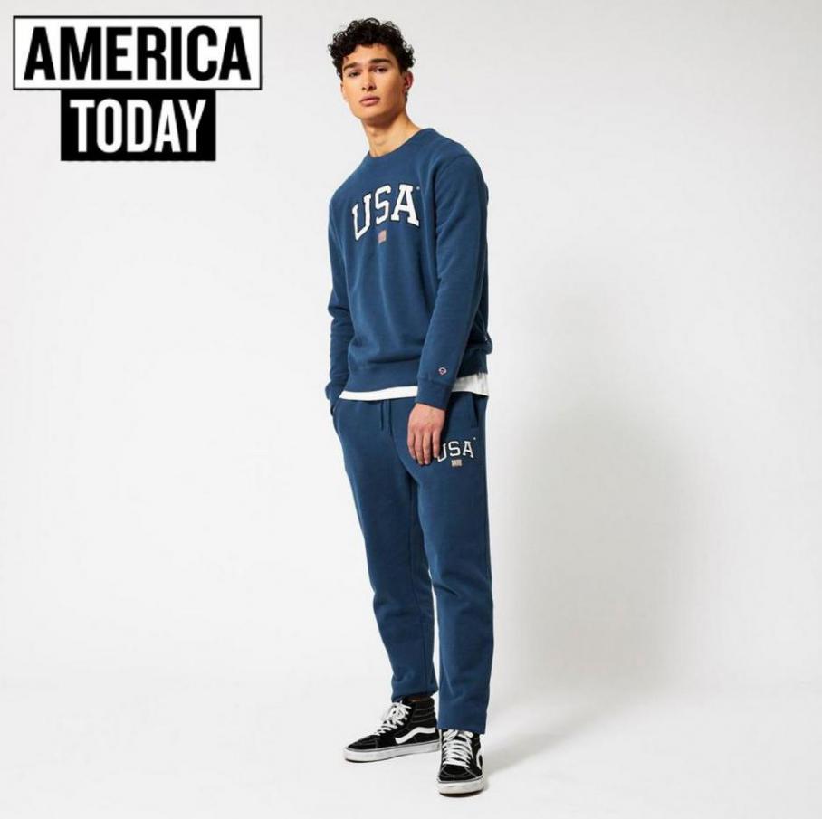 Broeken Heren . America Today (2021-04-30-2021-04-30)