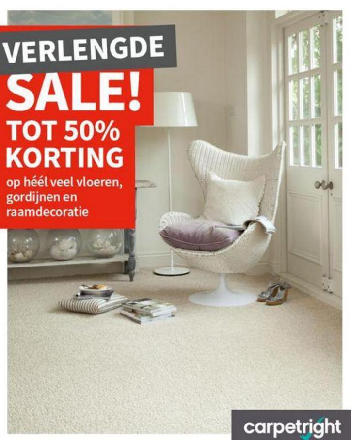 Verlengde Sale! . Carpetright (2021-03-31-2021-03-31)