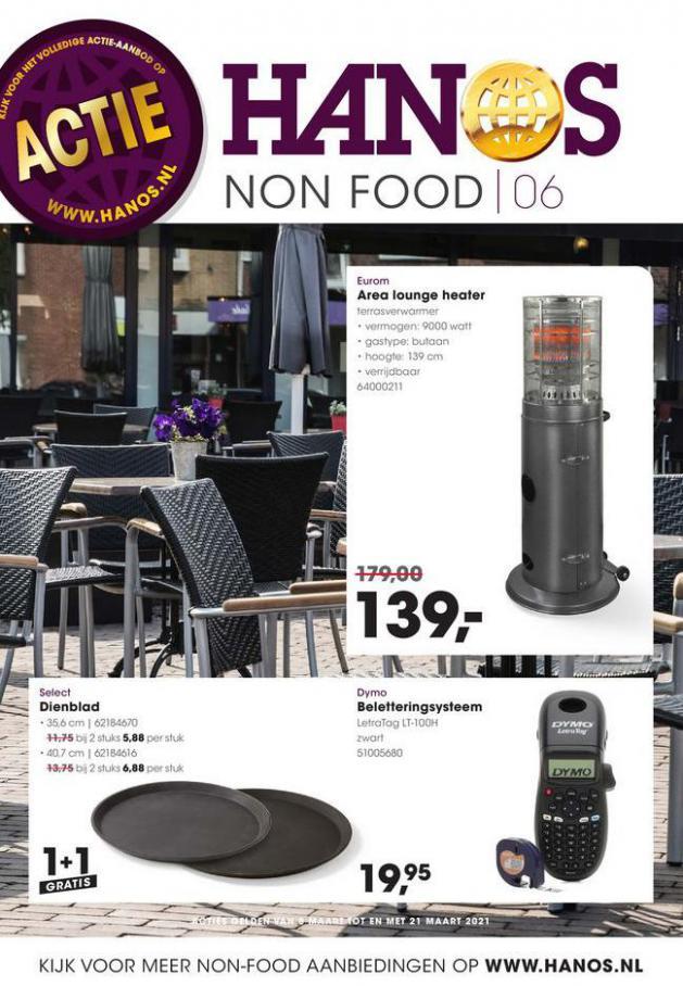 HANOS Courant 6 Non-food . HANOS (2021-03-21-2021-03-21)